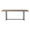Cosima Dining Table Grey 2m - Notbrand