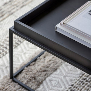 Marvin Tray Coffee Table Black - Notbrand
