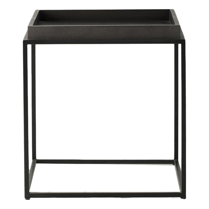 Marvin Tray Side Table Black - Notbrand