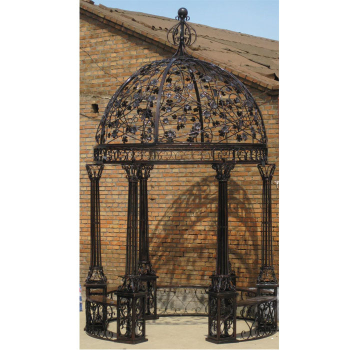 Victoria Wrought Iron Gazebo - Notbrand