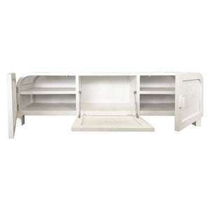 Grace Rattan Entertainment Unit - Chalk - Notbrand
