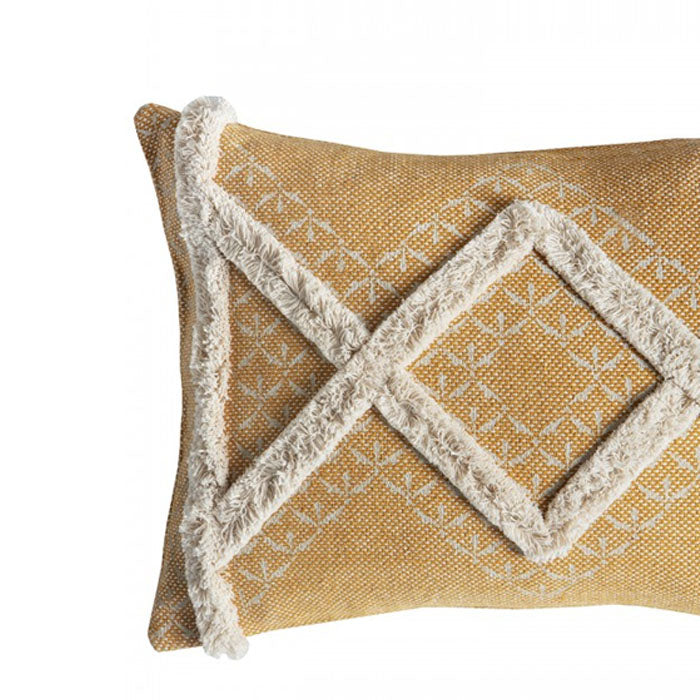 Gringo Tufted Cushion Ochre - Notbrand