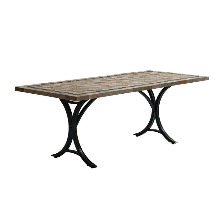 Horizon 220*100cm Slate Stone Table