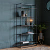 Ziva Display Shelving Unit Antique Gold - Notbrand