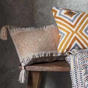 Lyric Cushion Ochre - Notbrand