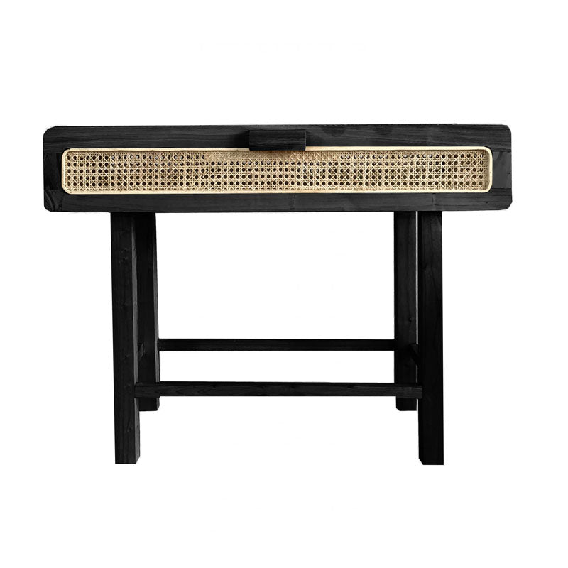 Hayme Black Console Table - Notbrand