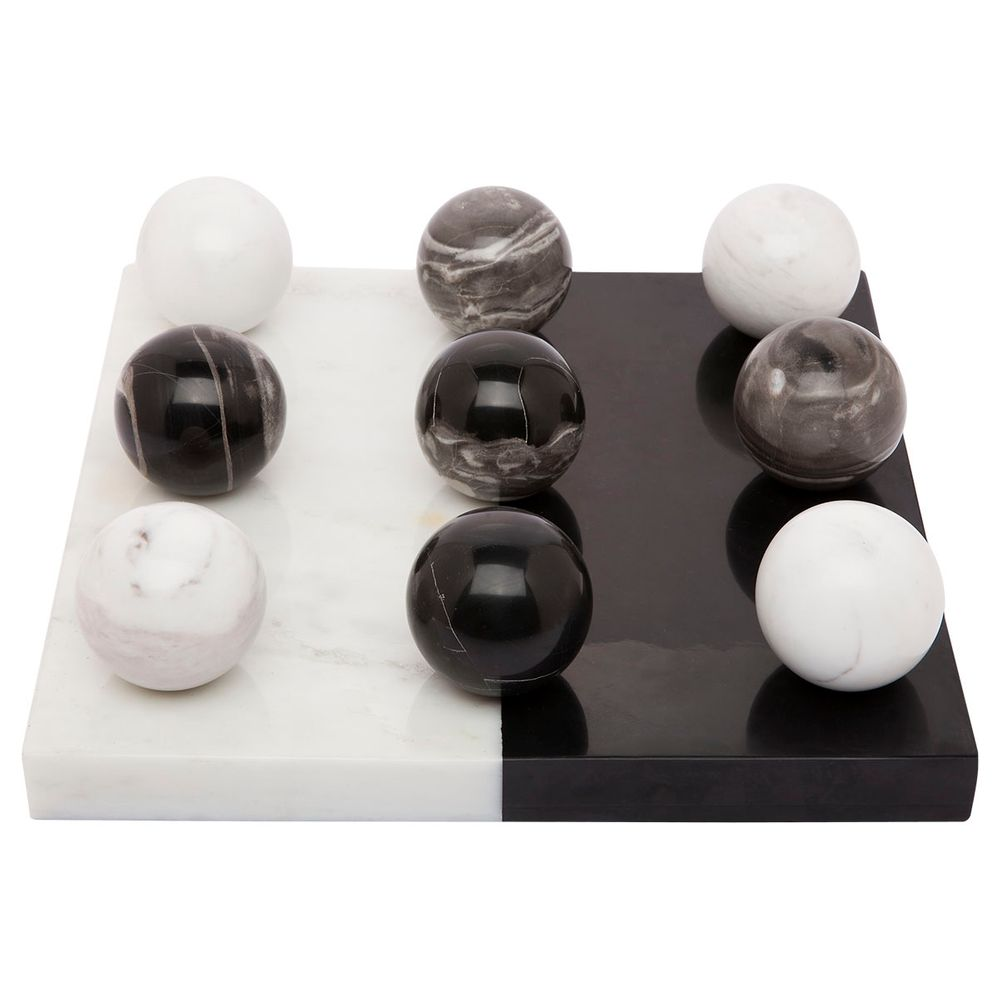 Hillcrest Marble Tic Tac Toe