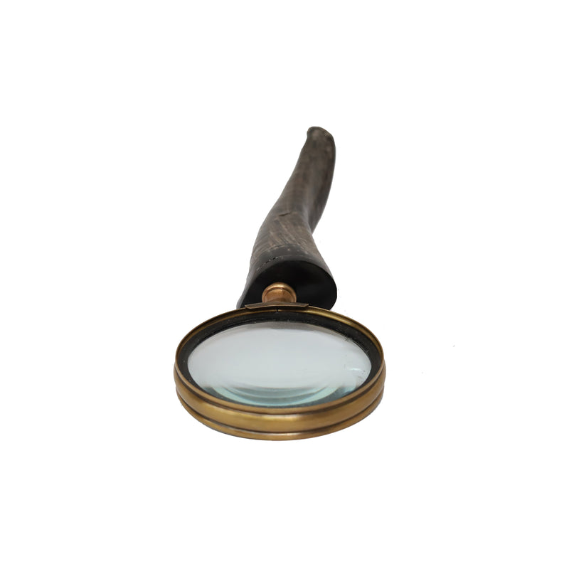 Horn Handle 75mm Magnifying Glass - Notbrand