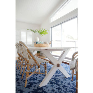 Bryce Mahogany Wood Dining Table – 2.0m - Notbrand