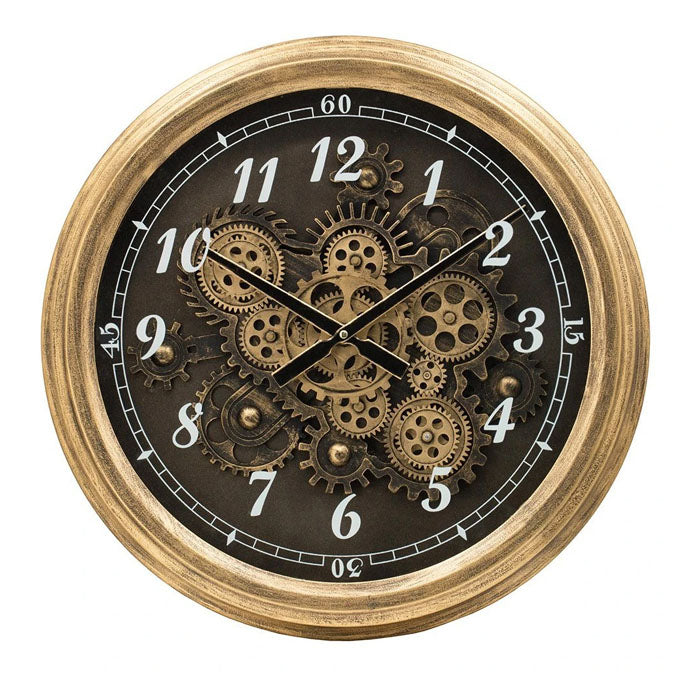 Intricate Moving Mechanism Wall Clock - Notbrand