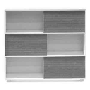 Kaegis Inter-layered Storage Cabinet - White - Notbrand