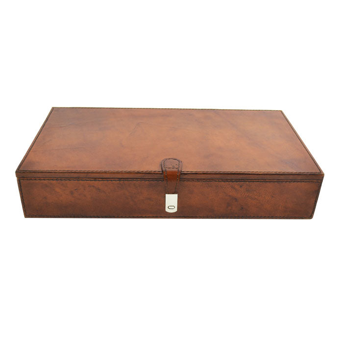Buccellati Tan Leather Jewellery Box - Notbrand