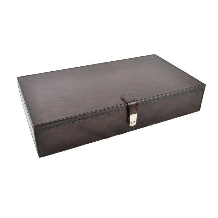 Buccellati Dark Leather Jewellery Box - Notbrand