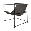Line Chair Black Leather - Notbrand