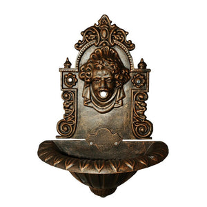 Louise Cast Iron Wall Fountain - Notbrand