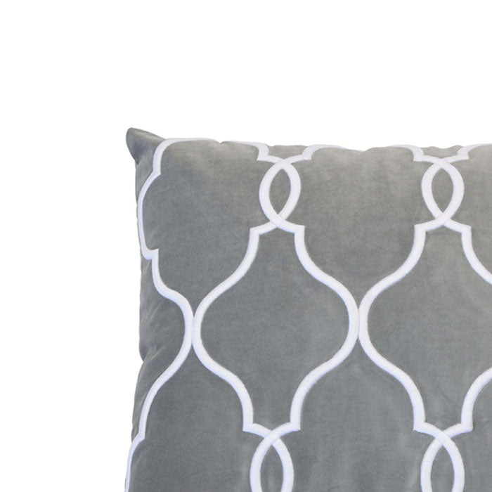 Laguna Beach Silver Cushion - Notbrand
