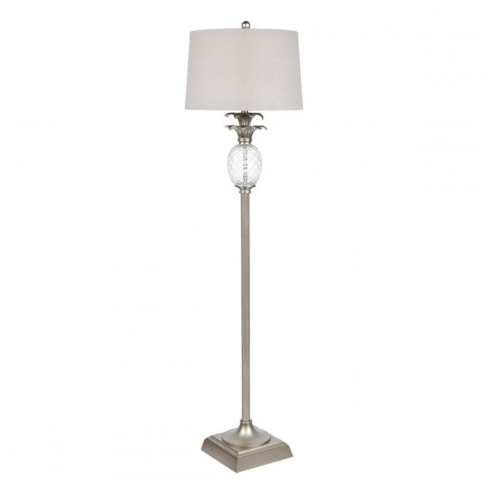 Langley Floor Lamp - Antique Silver - Notbrand