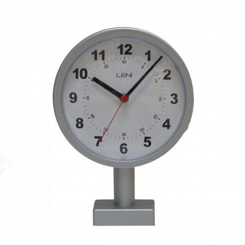 Leni Silver Station Table & Wall Clock - Notbrand