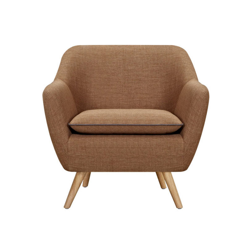 Riven Tobacco Luxe Armchair