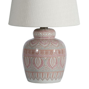 Madras Hand Painted Lamp