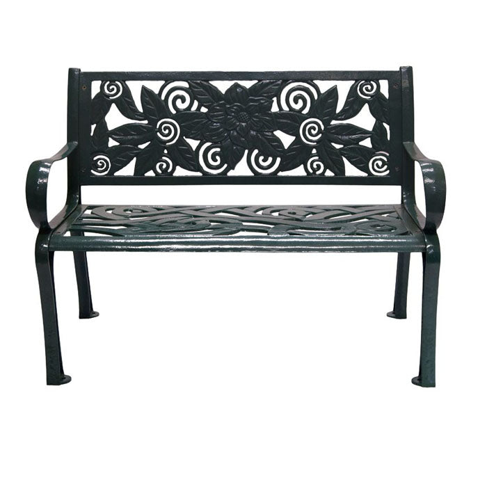 Moonflower Cast Iron Bench
