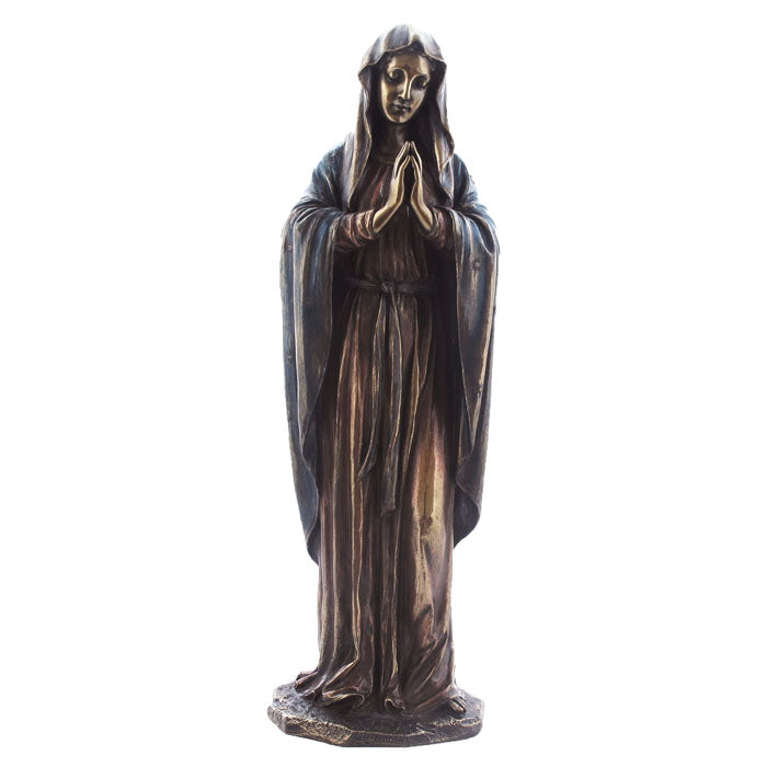 Mother Mary Bronze Figurine