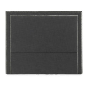 Manhattan Studded King Headboard - Charcoal - Notbrand