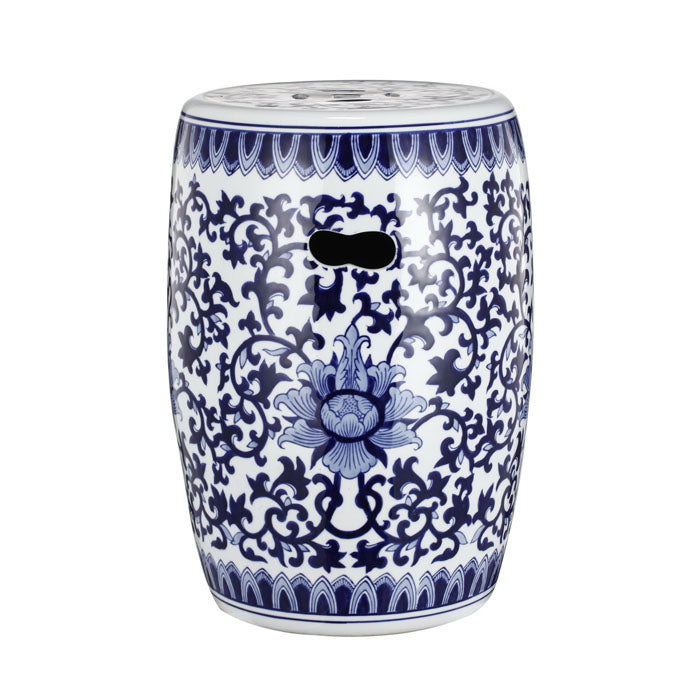 Ming Decorator Ceramic Stool - Notbrand
