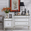 Paris Mirrored 3 Drawer Chest Nightstand - Notbrand