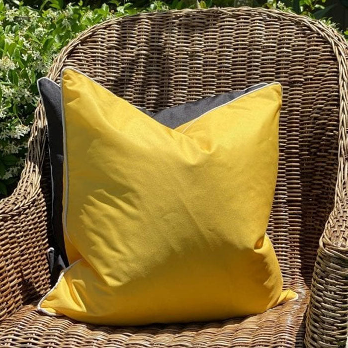 Monte Carlo Yellow Cushion - Notbrand
