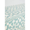 Moroccan Bone Inlay Chest of 9 Drawers Sideboard Light Green - Notbrand