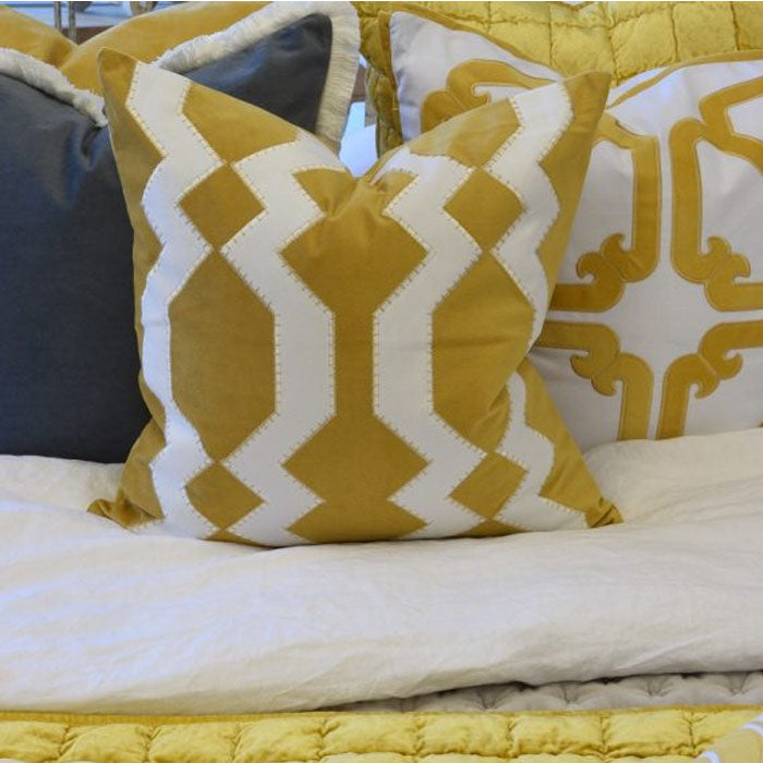 Mosman Gold Cushion - Notbrand