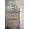 Bellamy 2 Drawer Bedside Table - Notbrand