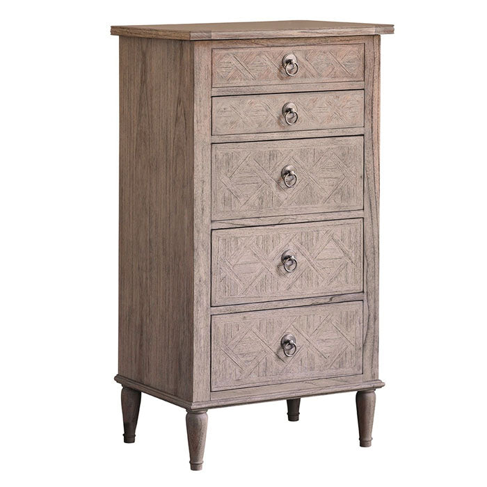 Mustique 5 Drawer Lingerie Chest - Notbrand