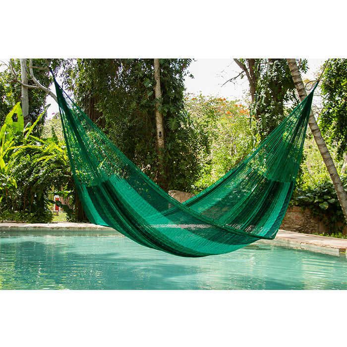 NEW Nylon Mexican Hammock Fresh Garden Colour - Notbrand