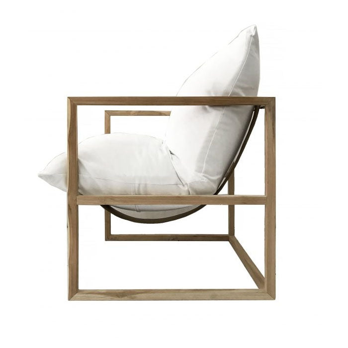 Neve White Chair - Notbrand