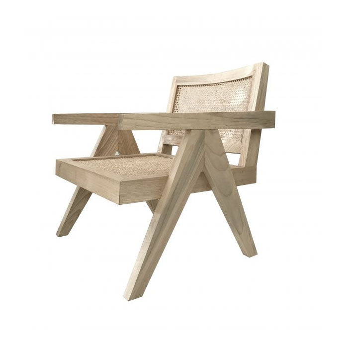 Normann Natural Rattan Occasional Chair - Notbrand