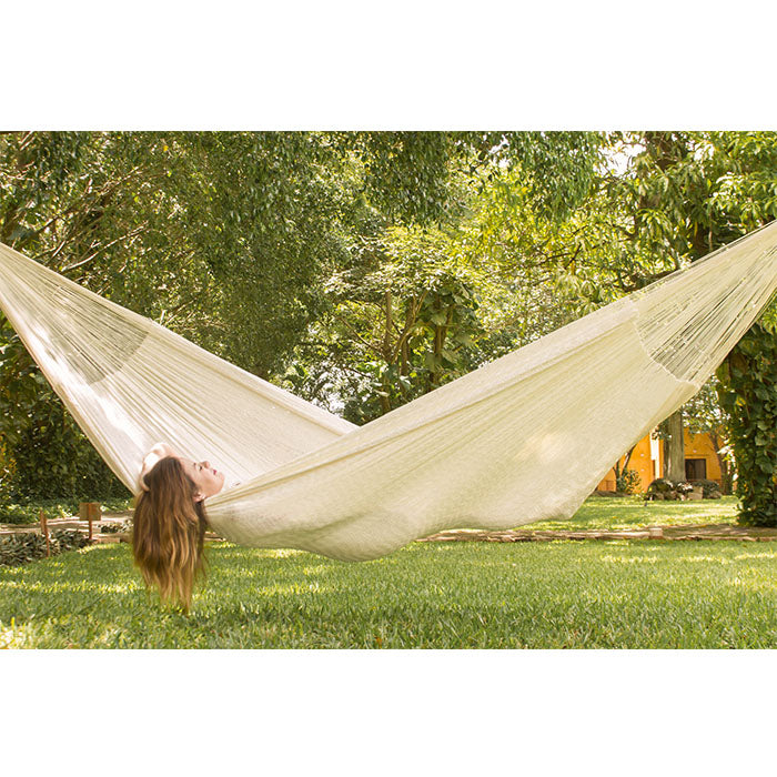 Nylon Mexican Hammock Cream Colour - Notbrand