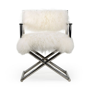 Fur Directors Chair - Notbrand