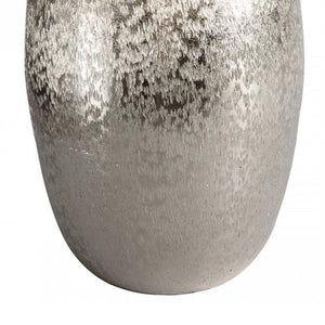 Estella Ellipse Ball Vase Silver - Notbrand