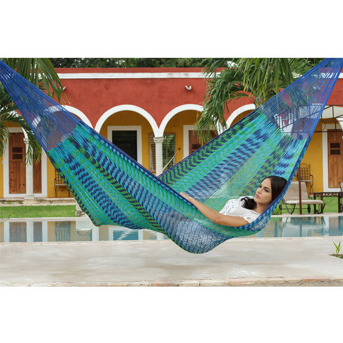 Caribe Outdoor Cotton Mexican Hammock - Notbrand