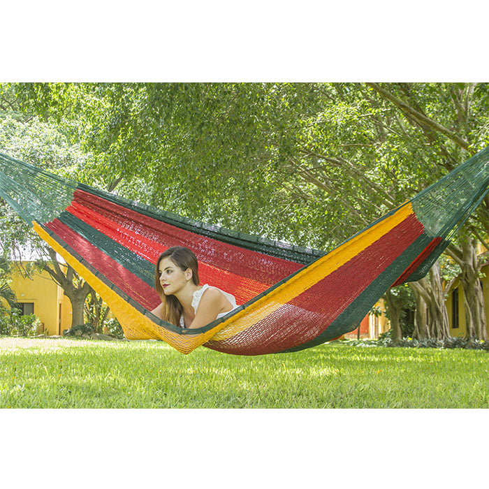 Imperial Outdoor Cotton Mexican Hammock - Notbrand