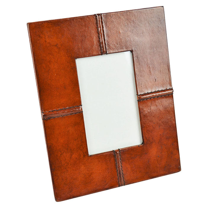 Tan Leather Photo Frame - Notbrand