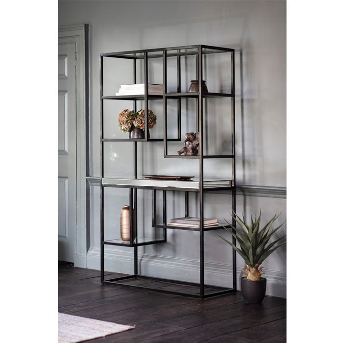 Pippard Open Display Unit Black - Notbrand