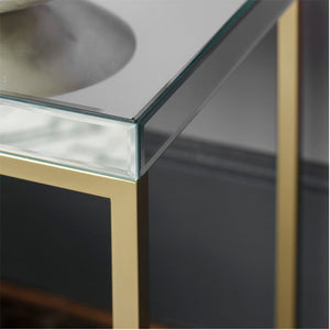 Pippard Side Table Champagne - Notbrand