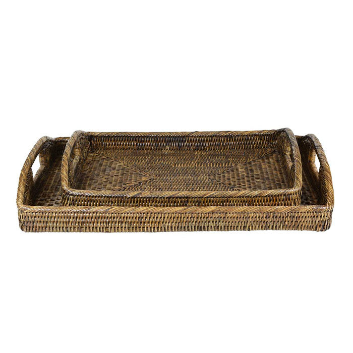 Plantation Morning Rattan Tray Range
