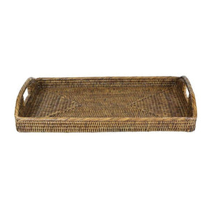 Plantation Morning Rattan Tray Range - Notbrand