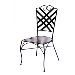 Rochelle Wrought Iron Chair - Notbrand