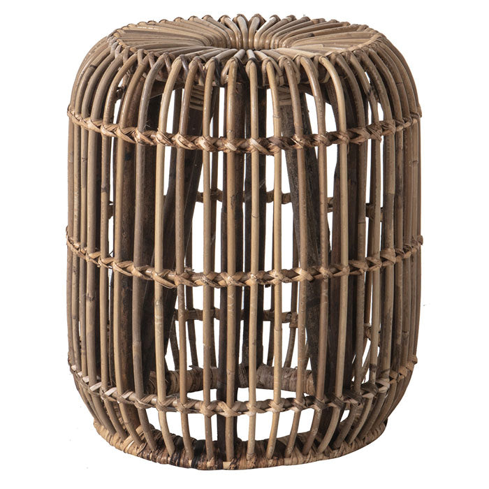 Amari Rattan Side Table Small - Notbrand