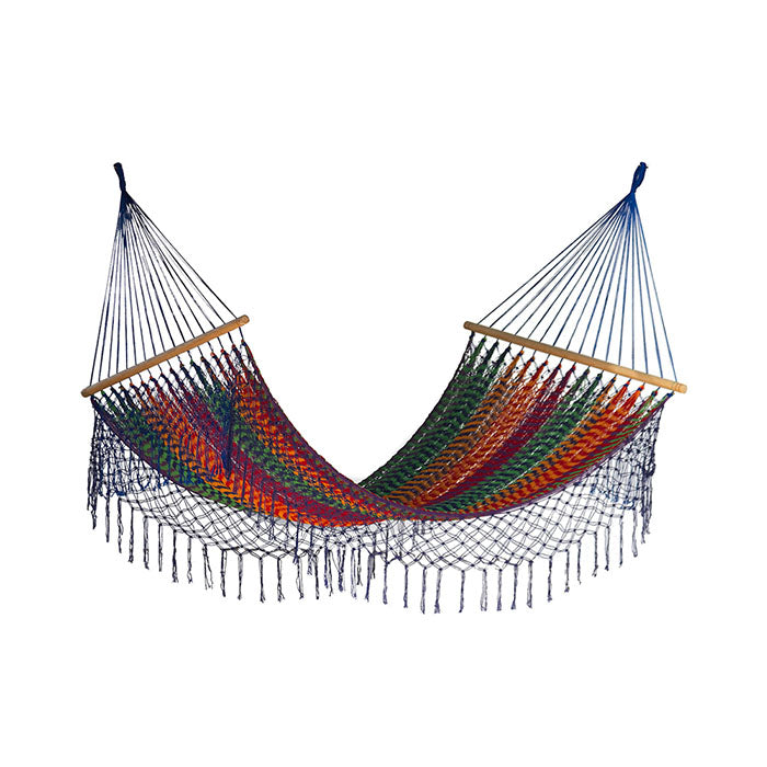 Resort Mexican Hammock with Fringe Mexicana - Notbrand